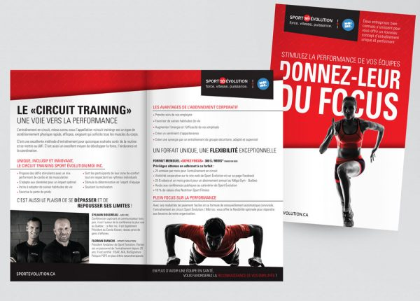 Flyer for Sport Évolution
